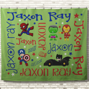 Personalized Kid Blankets