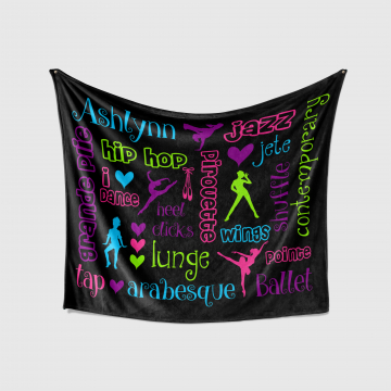 Personalized Dance Blanket
